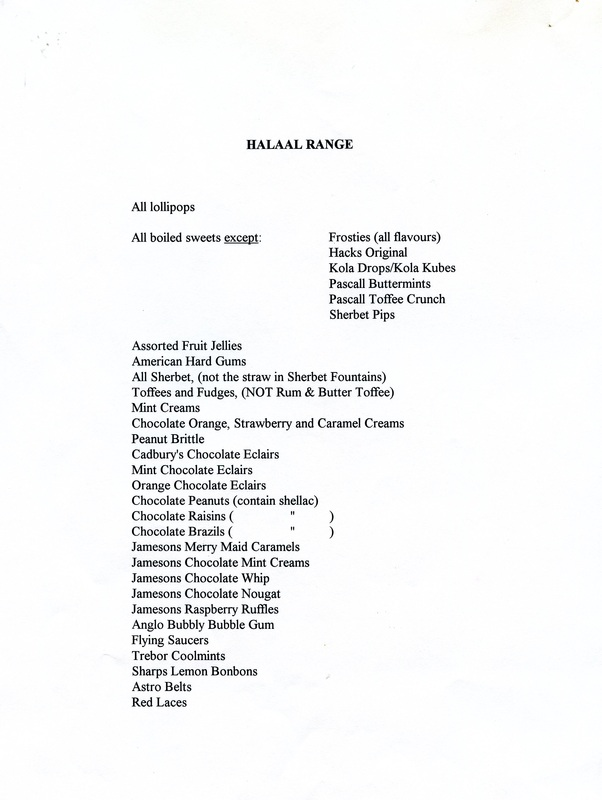 Documents - Halal Ingredients Website